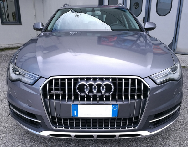 "Audi A6 All road - Wrapping Auto "" Gloss Anthracite """