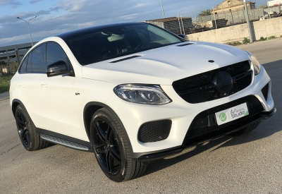Mercedes GLE 43 AMG - Wrapping 3M Satin Frozen Vanilla